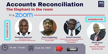Accounts Reconciliation: The Elephant in the room tickets