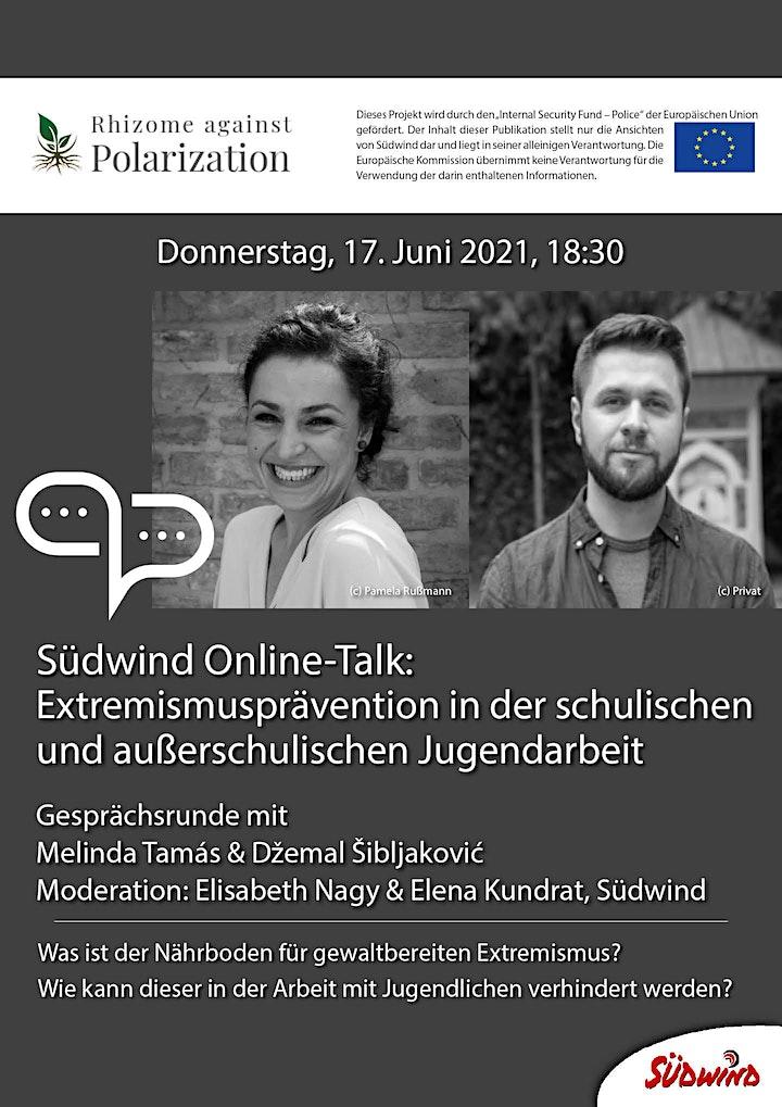 Südwind Online-Talk: Extremismusprävention: Bild