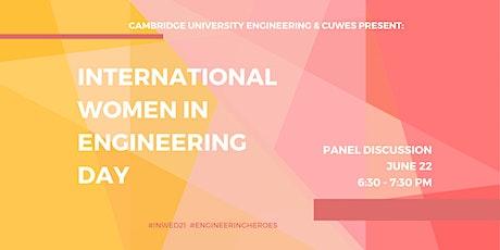 International Women In Engineering Day Panel tickets