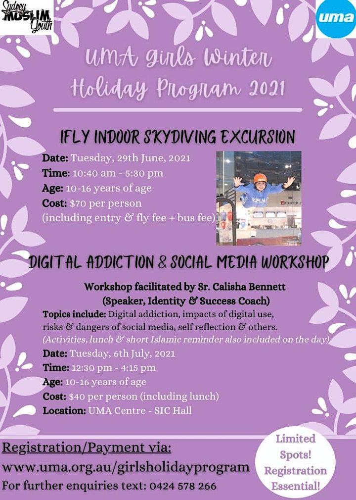 UMA Girls Winter Holiday Program 2021 image