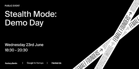 Stealth Mode 3.0: Demo Day tickets