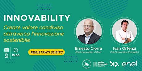 Innovability: Creare valore condiviso attraverso l'innovazione sostenibile biglietti