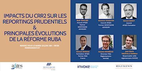 Webinar - Impact du CRR2 sur les reportings prudentiels & réforme RUBA entradas