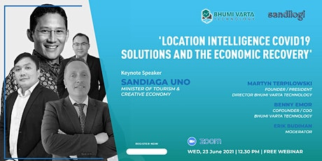 Location Intelligence : Covid-19 Solutions And The Economic Recovery tickets