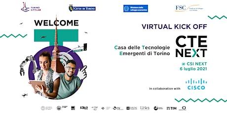 Virtual kick off CTE NEXT tickets