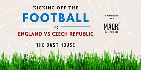 England Vs Czech Republic, Live at The Oast House tickets