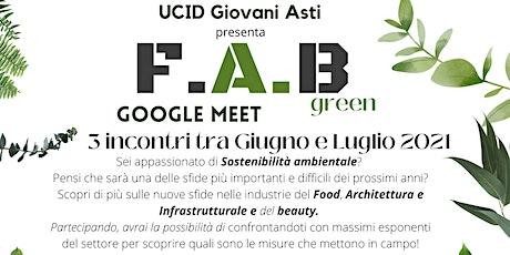 F.A.B GREEN -  FOOD biglietti