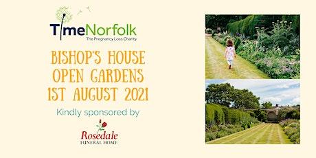 Bishop's House Open Garden in aid of TimeNorfolk 1/08/2021 tickets