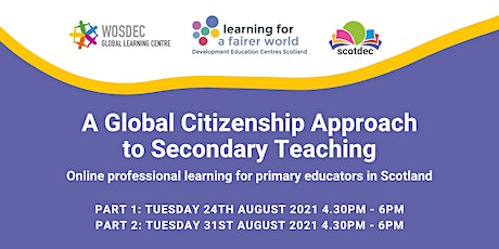 A Global Citizenship Approach to Secondary Teaching tickets