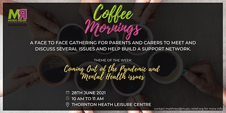 Coffee Mornings- Face to Face Community Discussions tickets