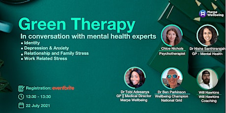 Green Therapy - In Conversation With Mental Health Experts tickets