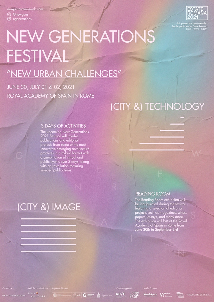 New Generations Festival - New Urban Challenges image