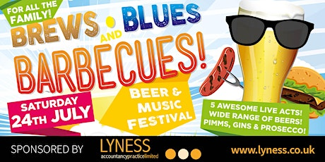 Brews, Blues & Barbecues '21 tickets