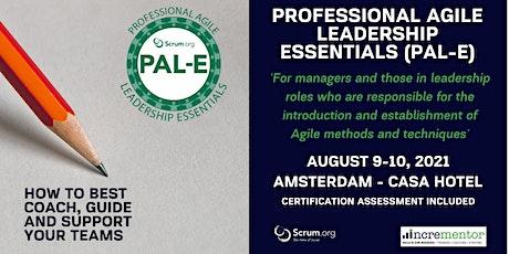 Certified Training | Professional Agile Leadership (PAL-E) tickets