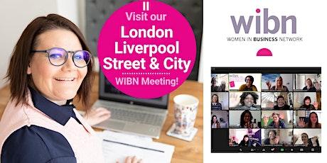 Women in Business Networking - London Liverpool Street & City tickets