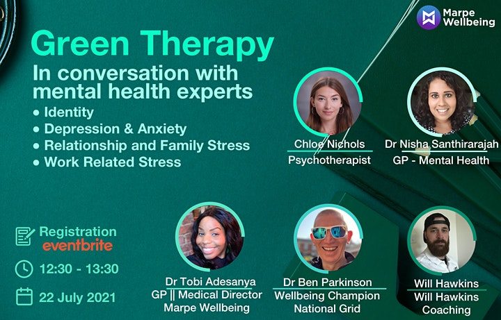 Green Therapy - In Conversation With Mental Health Experts image