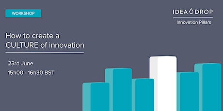 Online workshop: How to create a culture of innovation tickets