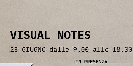 Visual notes biglietti