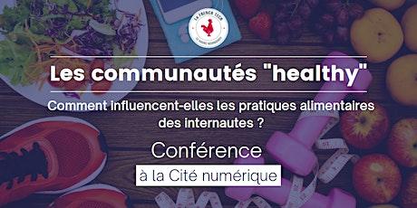 """Les communautés """"healthy"""" billets"""