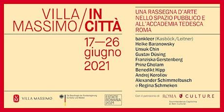 Villa Massimo in Città / DUE SEDIE. Lettura di Franziska Gerstenberg biglietti
