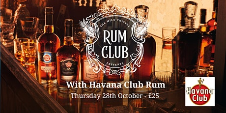 Havana Club Rum Club at The Milk Thistle tickets