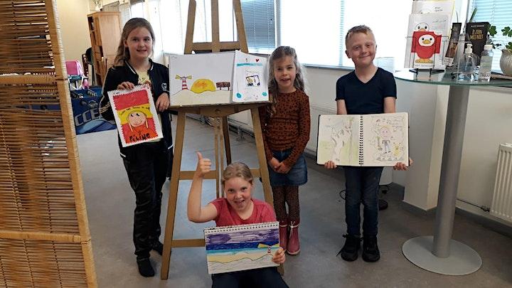 Afbeelding van Teken- en schilderles jeugd