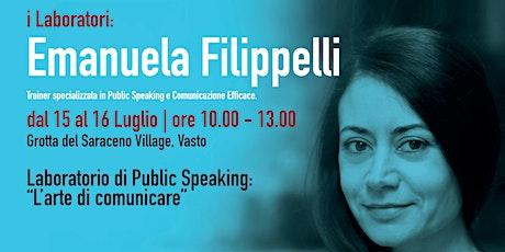 Festival Maestri Fuori Classe 2021 - Emanuela Filippelli biglietti