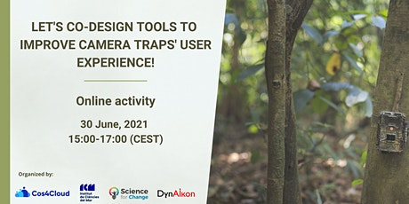 Let's co-design tools to improve camera traps' user experience! tickets