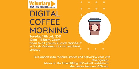 Digital Coffee Morning - A Coffee Around the Computer Cooler Tickets