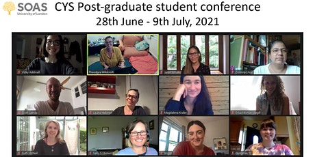 SOAS CYS Post-Graduate Student conference tickets