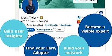 Workshop: LinkedIn for Startups biglietti
