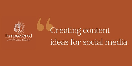 Content ideas for social media - that don't suck tickets
