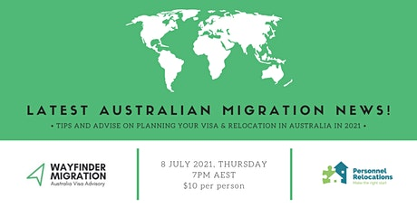 Latest Tips & News for Permanent Migration in and to Australia! tickets