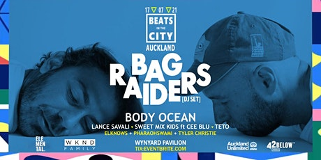 Beats in the City ft: Bag Raiders (Aus) | Auckland tickets
