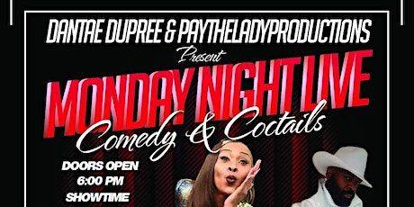 MONDAY NIGHT LIVE, COMEDY & COCTAILS tickets