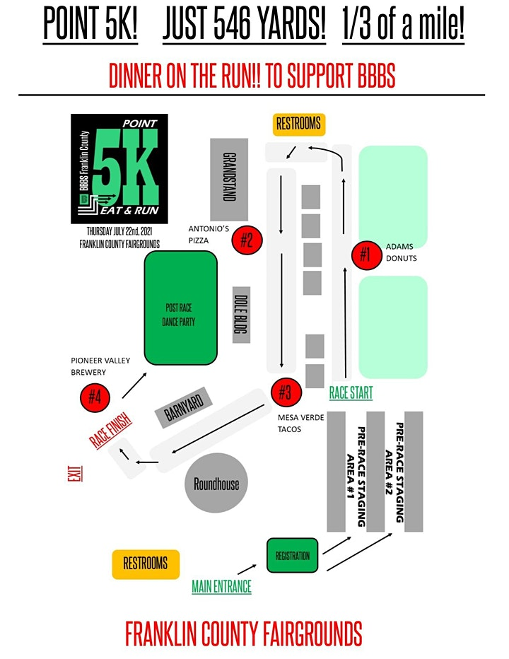 .5k Eat & Run to Support Big Brothers Big Sisters image