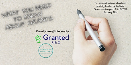 """""""What You Need to Know About Grants - R&D"""" webinar tickets"""