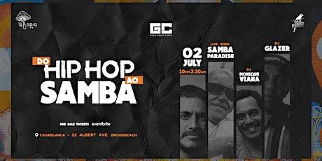 Do Hip Hop ao Samba tickets