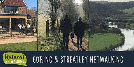 Natural Netwalking in Goring and Streatley, Fri 3rd Sept 7:30am-9:30am tickets