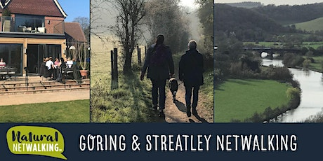 Natural Netwalking in Goring and Streatley, Fri 1st Oct 7:30am-9:30am tickets