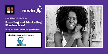 Branding and Marketing Masterclass with Hustle Smart tickets
