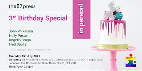 the87press 3rd Birthday Special: Wilkinson, Pester, Braga, Spoliar. tickets
