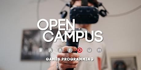 "Campus Insights - ""Games Programming"" - SAE Bochum Tickets"