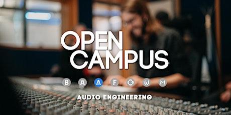 "Campus Insights - ""Audio Engineering"" - SAE Bochum Tickets"