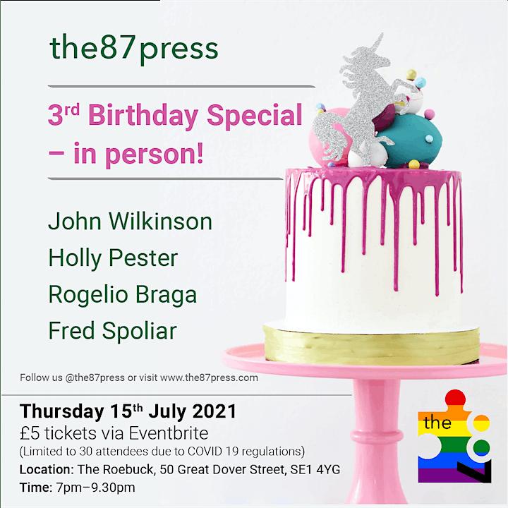 the87press 3rd Birthday Special: Wilkinson, Pester, Braga, Spoliar. image