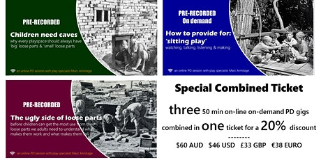 Special COMBINED TICKET ONLINE ONDEMAND - three tickets in one tickets
