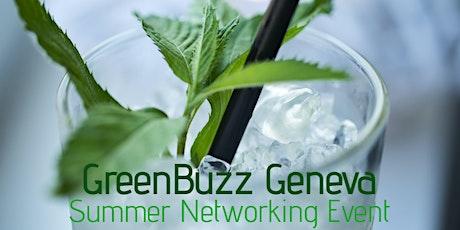 GreenBuzz Geneva Summer Networking Event billets