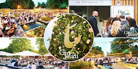 Gin Jeudi Glamorous & Chic Night ☼ La Terrasse O2 ☼ Summer Edition 2021 tickets