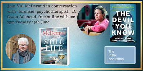 Val McDermid in conversation with forensic psychotherapist, Dr Gwen Adshead tickets