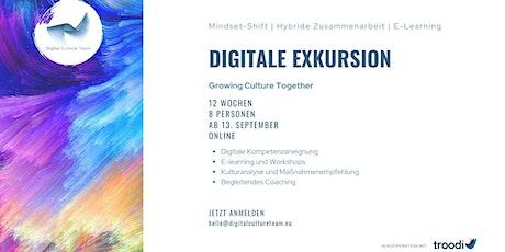Infoveranstaltung Digitale Exkursion Tickets